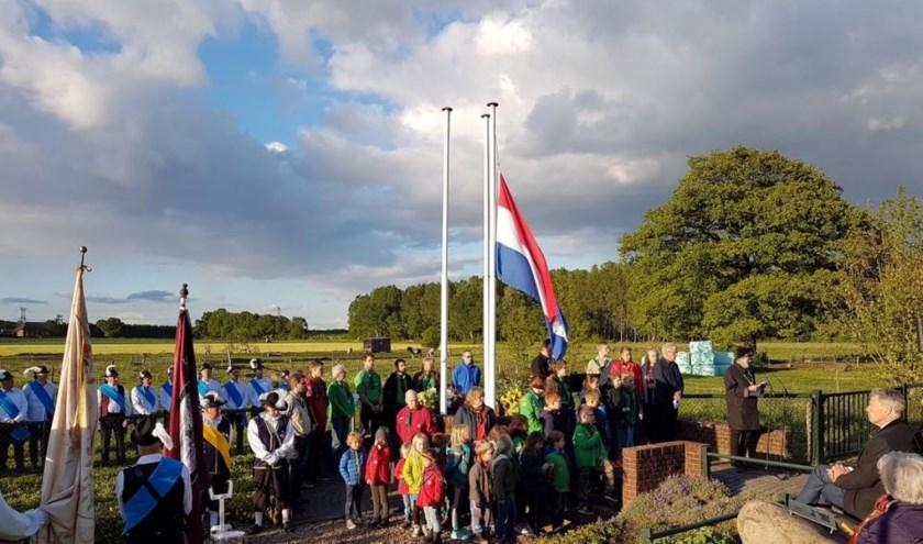 Dodenherdenking gemeente Heumen 4 mei 2019. (foto: Lisette Landsheer)