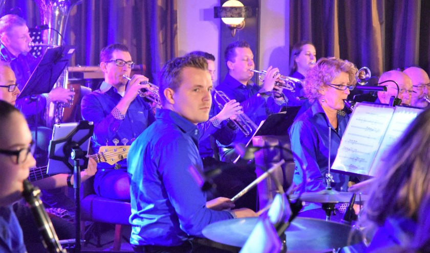 Sint- Andries tijdens vorig concert. (foto: Harrie Keultjes)