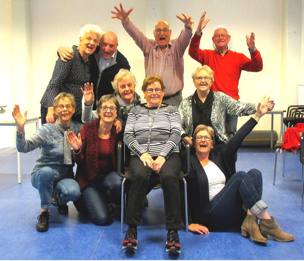 De enthousiaste toneelgroep Jong Belegen