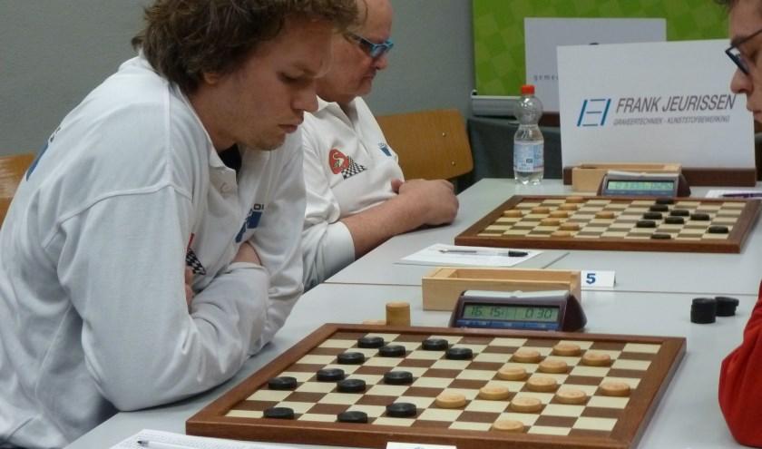 Wouter Ludwig (l) en Geert van Aalten.