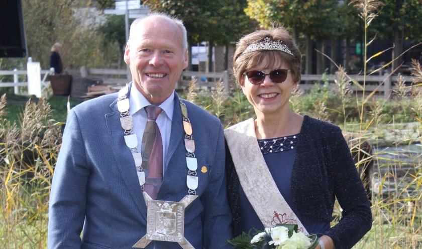 Koningspaar Gerard & Ans Polman. (foto: Renate van Onna)