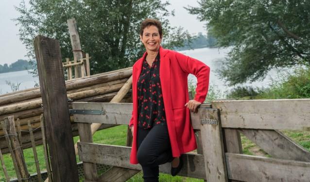 Ingrid Berns, een van de spreeksters. (foto: Ingrid Berns)