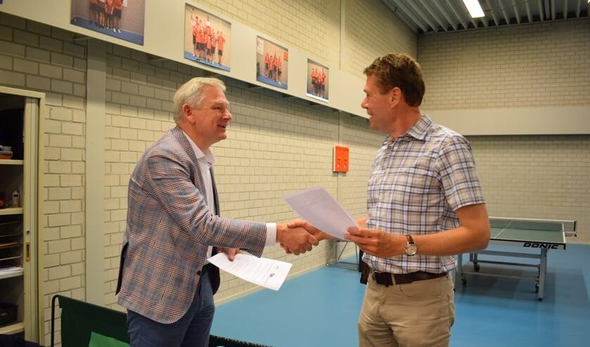 Bas Huitink en Marco Knaap. (foto: Astrid Barends)