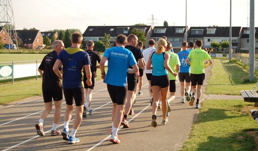 Hardlopen voor beginners bij b.o.d. de Sprinters. (foto: b.o.d. de Sprinters)