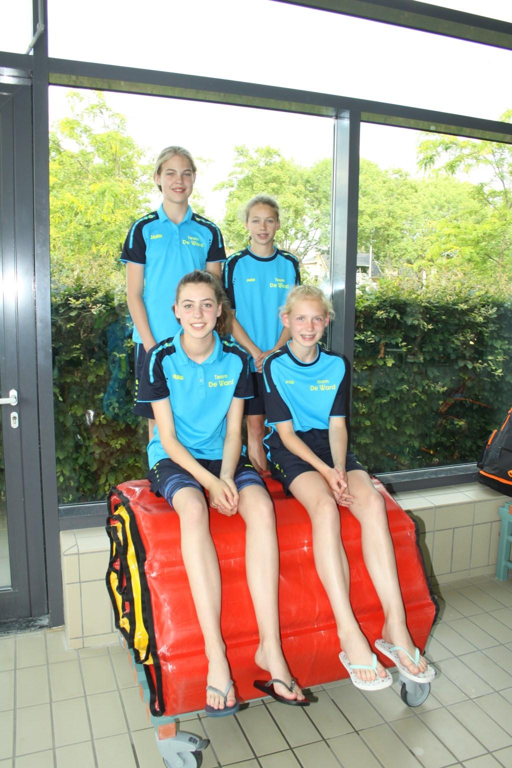 Iris, Nienke, Claudia en Inge