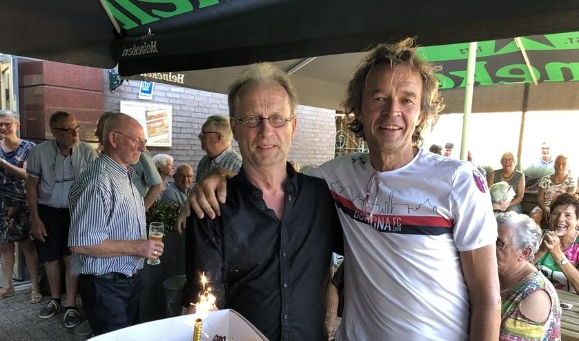 Rob Koops en Maarten Wolf. (foto: Jos van de Werken)