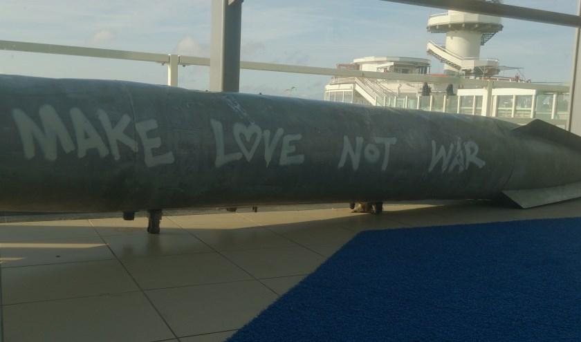 Make love not war. (foto: Marjolein Pieks)