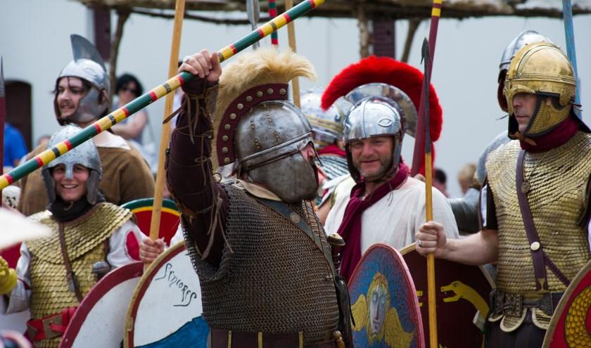 Romeinse re-enactors. (foto: Museumpark Orientalis)