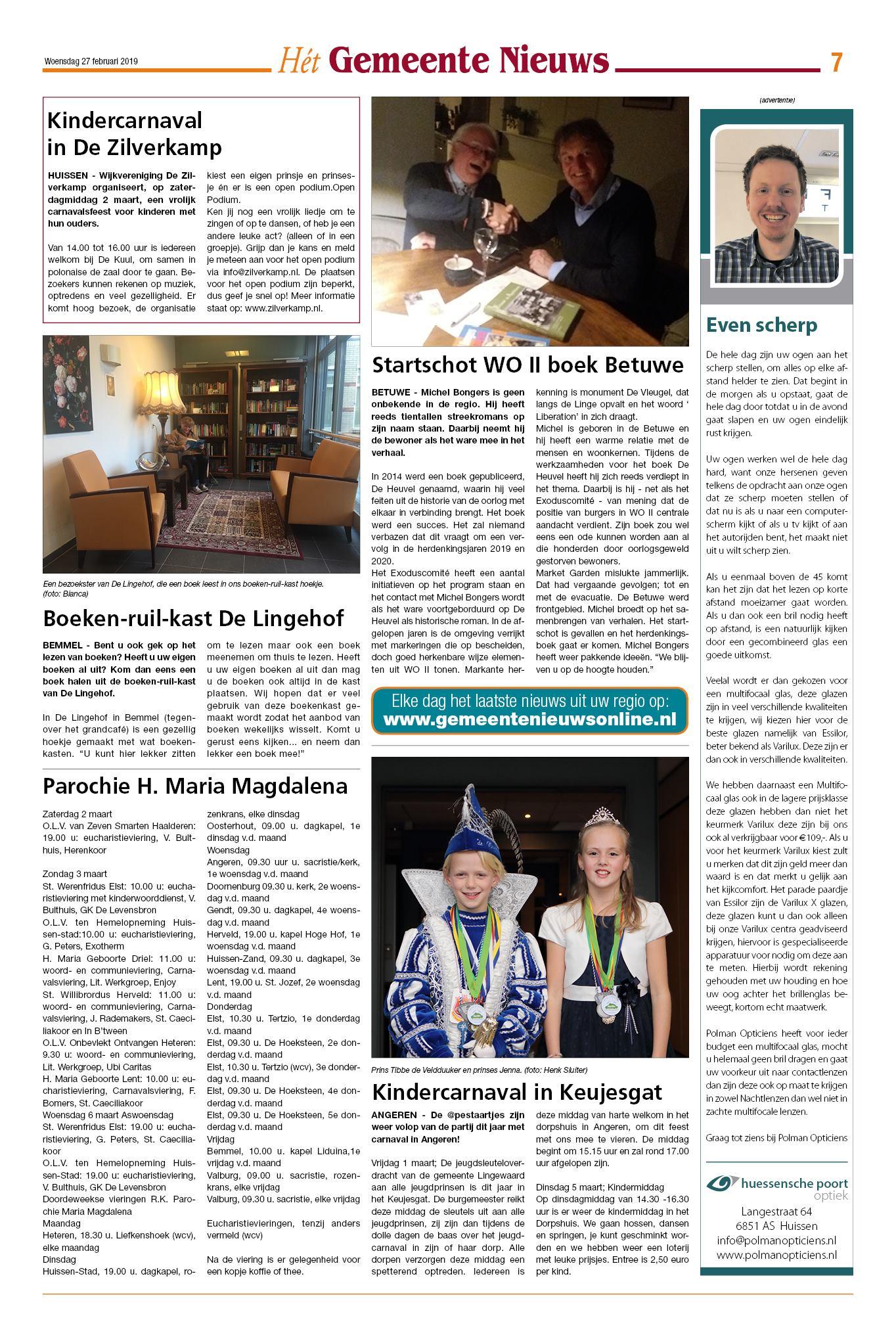 Gn Lingewaard 27 Februari 2019